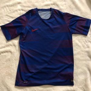 Boys Nike athletic t-shirt